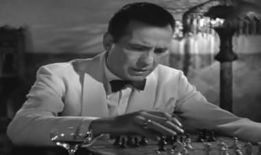 "Film ""Casablanca"" with Humphrey Bogart"