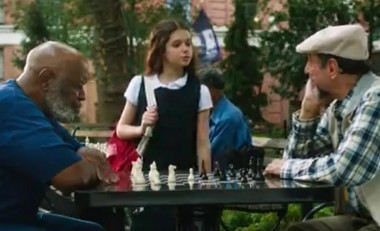 Movie about a little girl learning chess